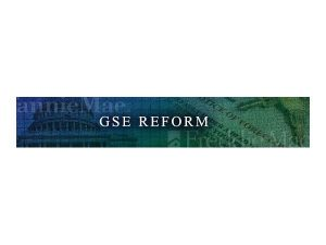 Podcast Interview About GSE Reform