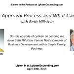 2018-04-30 The ​Fannie​ ​Mae Approval Process and What Causes Delays – with Beth Millstein