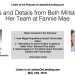 Lykken on Lending Show: Insights and Details from Beth Millstein and Her Team at ​Fannie​ ​Mae