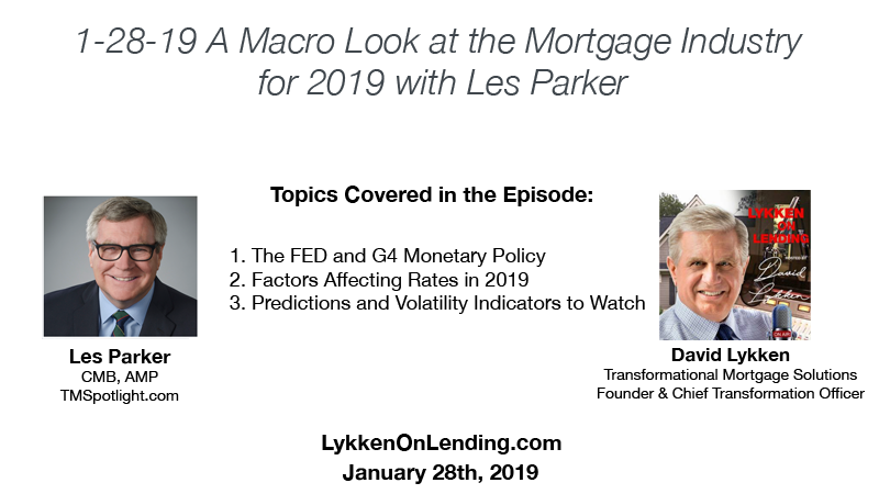 Les Parker, Lykken on Lending 1-28-19