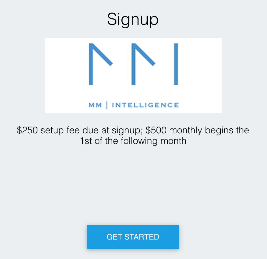 Mobility Market Intelligence Signup by MobilityRE